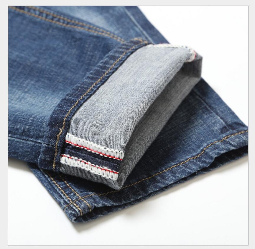 ClassDim Jeans Mens Elastic Slim Denim Jeans Skinny jeans New Fashion Male Pencil Pants Denim Jeans Size 40