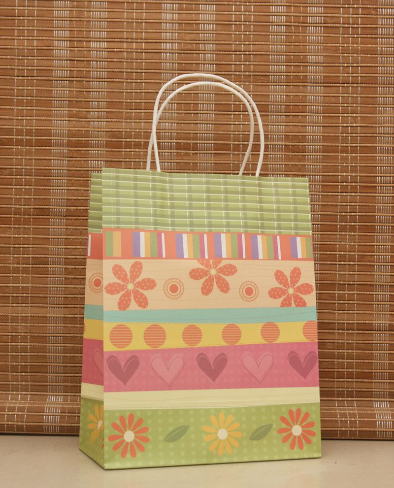 50pcs 27x21x11cm High Quality Kraft paper gift bag Birthday party bag Festival gift bags Paper bag with handles wholesale-in Jewelry Packaging & Display from Jewelry & Accessories    2