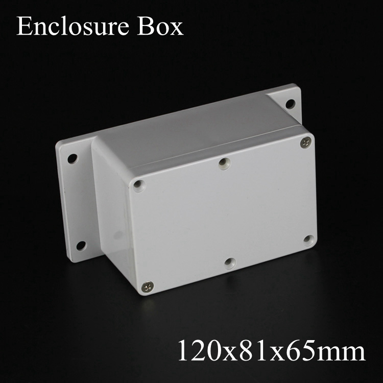 120*81*65mm IP66 ABS Waterproof electronic enclosure project box Distribution control switch junction outlet case 120x81x65mm  цены