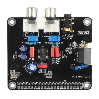 Módulo da Placa De Som de Áudio de ALTA FIDELIDADE DAC I2S interface para Raspberry pi B + 2