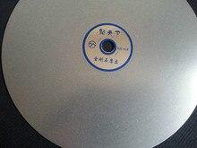 Grit 600 Diamond coated 8 inch Flat Lap wheel Lapidary lapping polishing disc