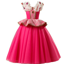 European and American childrens dress Christmas princess girl party clothing