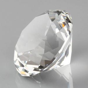 Image 1 - Hbl 20mm ~ 50mm 10pcs 지우기 크리스탈 다이아몬드 유리 문진 장식 유리 다이아몬드 홈 인테리어 액세서리 웨딩 선물
