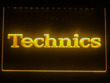 K149 técnicas turntables dj música novo sinal de luz de néon led