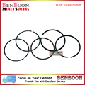 GY6 100cc 50mm PISTON RING SET 4T 139QMB Chinese Scooter Parts ATV Go-Kart Znen Baotian Peace Taotao Icebear Romet Free Shipping