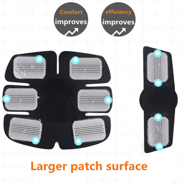 Wireless Electric muscle stimulator Abdominal machine ABS ems Trainer fitness Weight loss Body beauty slimming Massage  3