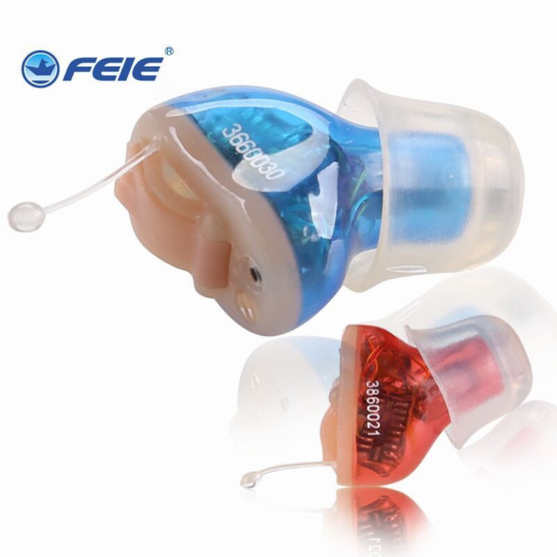 Aliexpress Cheap Price Mini Digital Hearing Aid in Ear Voice Amplifier S-10A  for Hearing Loss People cheap price mini digital cic hearing aid for moderate hearing loss s 10a free shipping