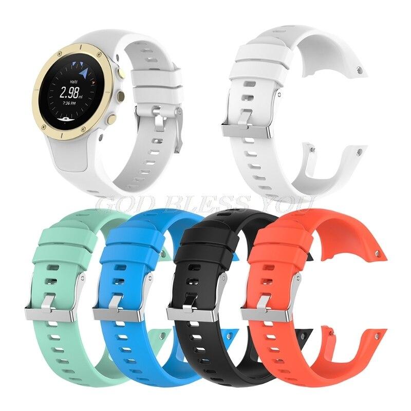 Silicone Replacement Wrist Band Strap For Suunto Spartan Trainer Wrist HR Watch