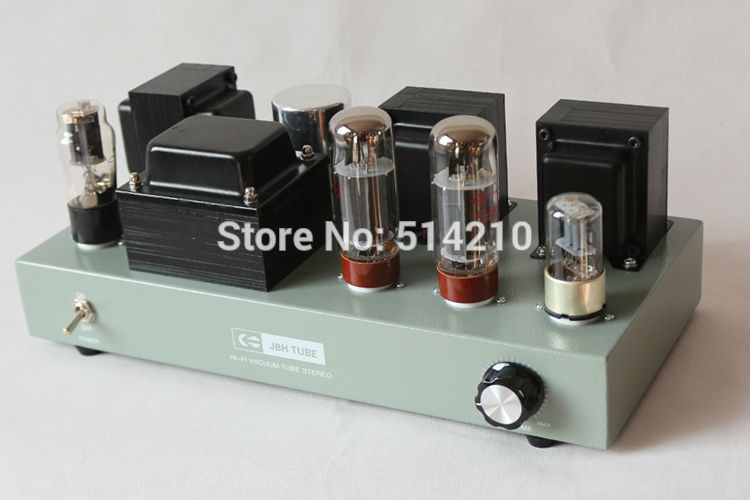 2017 Sales promotion NEW 6n9p push EL34 class A tube amplifier Handmade Scaffolding finished lamp amp JBHEL34CYfinished amp