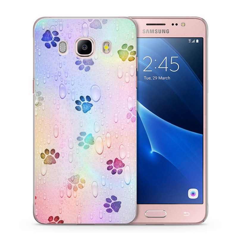 TPU чехол для samsung Galaxy S7 край S9 плюс A3 A5 2016 2017 Премьер J1 J2 J3 J5 J7 ТПУ Красочные мягкий чехол Fundas C164