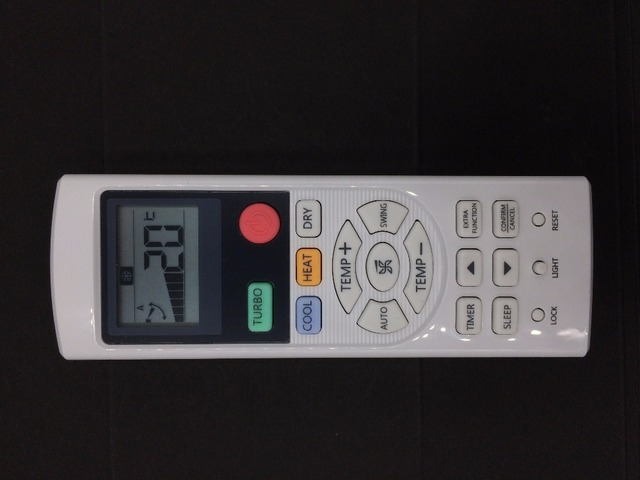 US $26 32 6% OFF Original HAIER YR HD06 air conditioner remote control  English -in Remote Controls from Consumer Electronics on Aliexpress com  