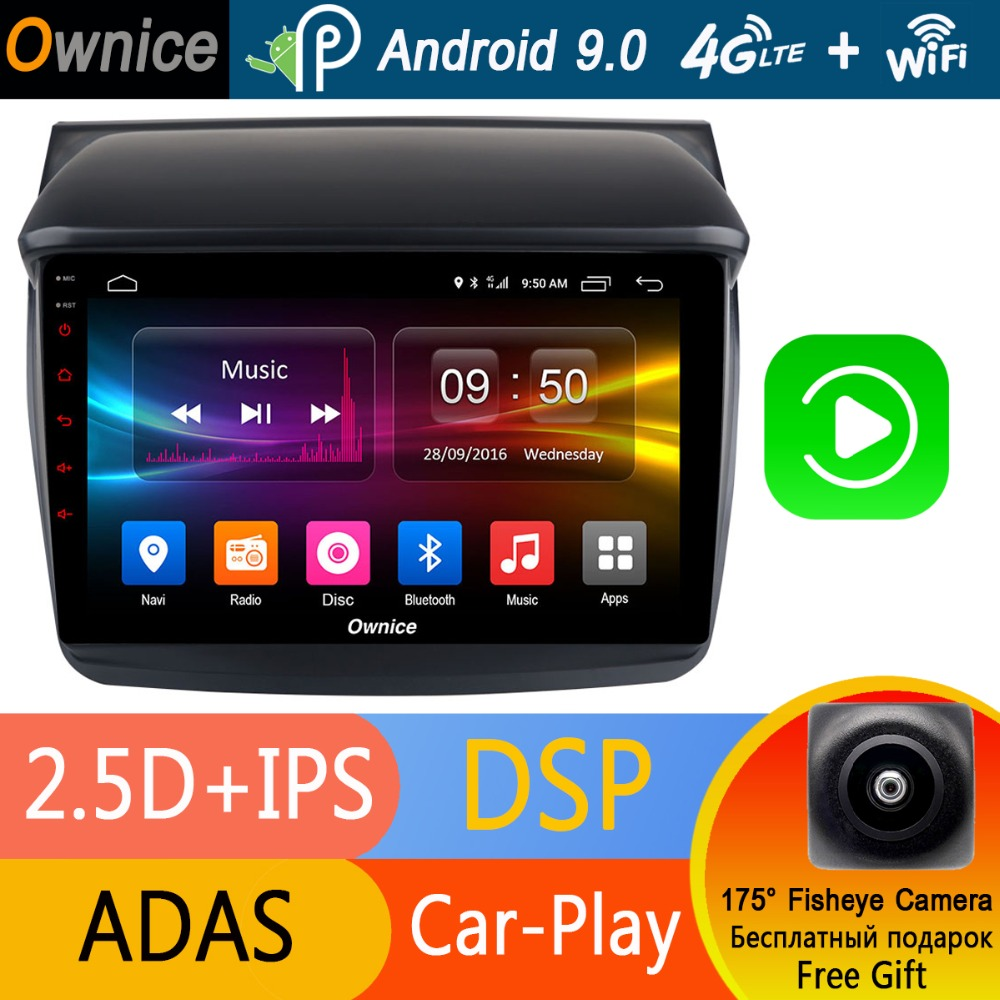 Android 9 0 1DIN 9 IPS 8 Core 4G 32G Car DVD GPS Navi Radio For