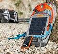 Shiping libre! 2016 KTM Multifuncional Mochila de Viaje Al Aire Libre Solar Cargador Solar Con 10 W Panel Solar Para Teléfonos/cámara/Laptop