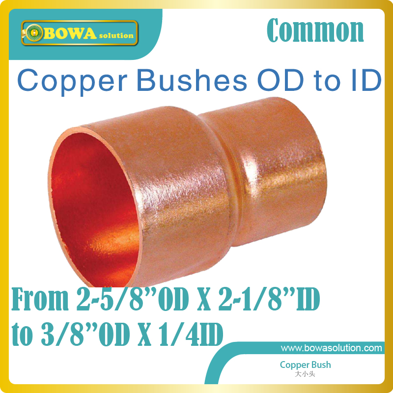 Copper Bushes OD to ID from 1/4 to 2-5/8 installed between condenser and receivers, pls consult us about mixed buy if purchase atamjit singh pal paramjit kaur khinda and amarjit singh gill local drug delivery from concept to clinical applications