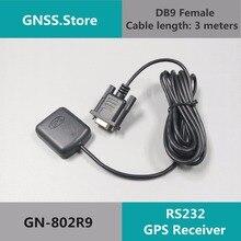 5 в rs232 DB9 RS-232 gps приемник Антенна gps чип дизайн модуля, nmea0183