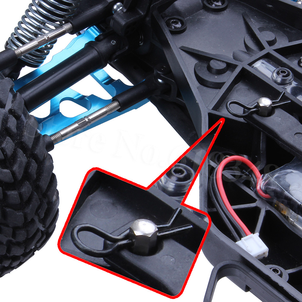 1:10 Scale RC Rock Crawler Bodyshell Clips R-Pins for TRX-4 TRX4 Accessories