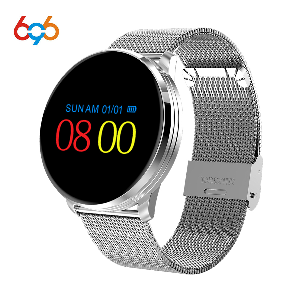696 Smart band M9 Heart rate Blood Pressure activity Health Track Steel Smart Bracelet Fitness Track Wristband for smartphone