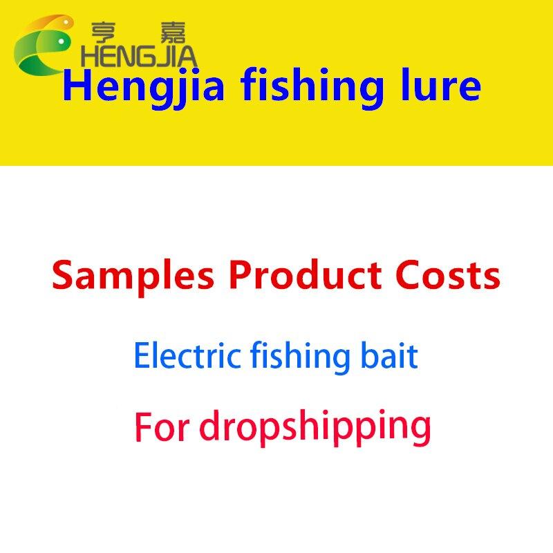 HENGJIA USB Rechargeable Flashing LED light Twitching Fishing Lures Bait Electric Life-like vibrate fishing Lures