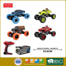 Hot 1:14 scale 4wd big wheel radio remote control Climbing car 2.4GHz rc toys for kids gifts