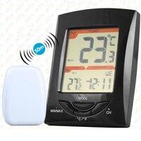 Digital Wireless Weather Station Big Lcd Clock Indoor Outdoor Temperature Sensor Sensing distance 50m