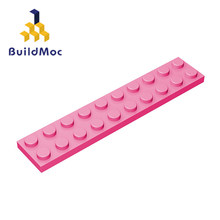 Buildmoc compatível monta partículas 3832 2x10for blocos de construção peças diy logotipo educacional criativo presente brinquedos
