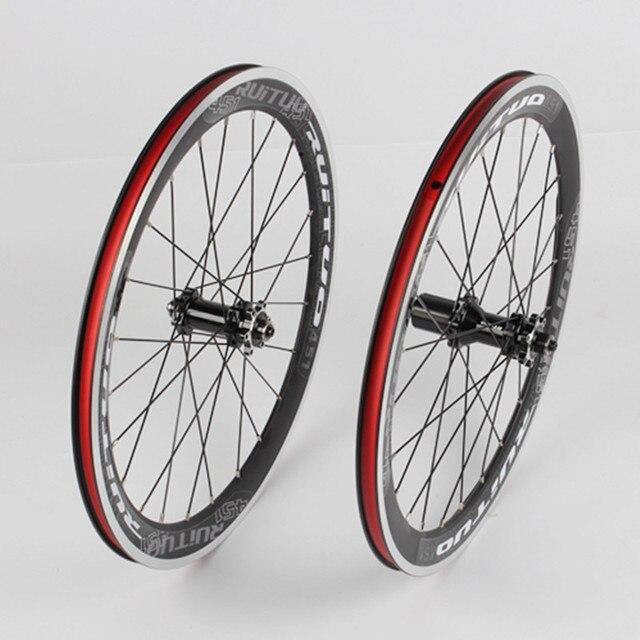 MEROCA Folding BXM Bike Race Sealed Bearings Wheel Five 451 Disc Brake Wheelset Rims