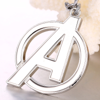 Movie The Avengers Logo Keychain (2 Colors) 4