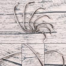 Retro stop metalowy kwiat torebka DIY Craft rama pocałunek blokada zapięcia brąz tanie tanio Other