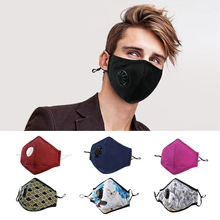 GLORSUN 1Pcs Fashion Mask Dust Anti Pollution PM2.5 Activated Carbon Filter Insert Reusable Pollen Cotton Mouth