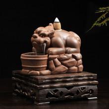 Ceramic incense burner cone stove mascot home decoration buddhist supplies free shipping