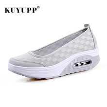 Big size 35-42 Women Sneakers Air Mesh Flats Shoes Comfortable Flat Platform Daily Shoes Basic Outwear Femail Shoes YD938(China)