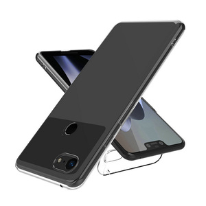 Image 2 - Shockproof Full Protection Phone Case For Google Pixel 2 3 3a 4 XL Crystal Soft Silicon Coque for Google Pixel XL 2 Pixel3 Cover