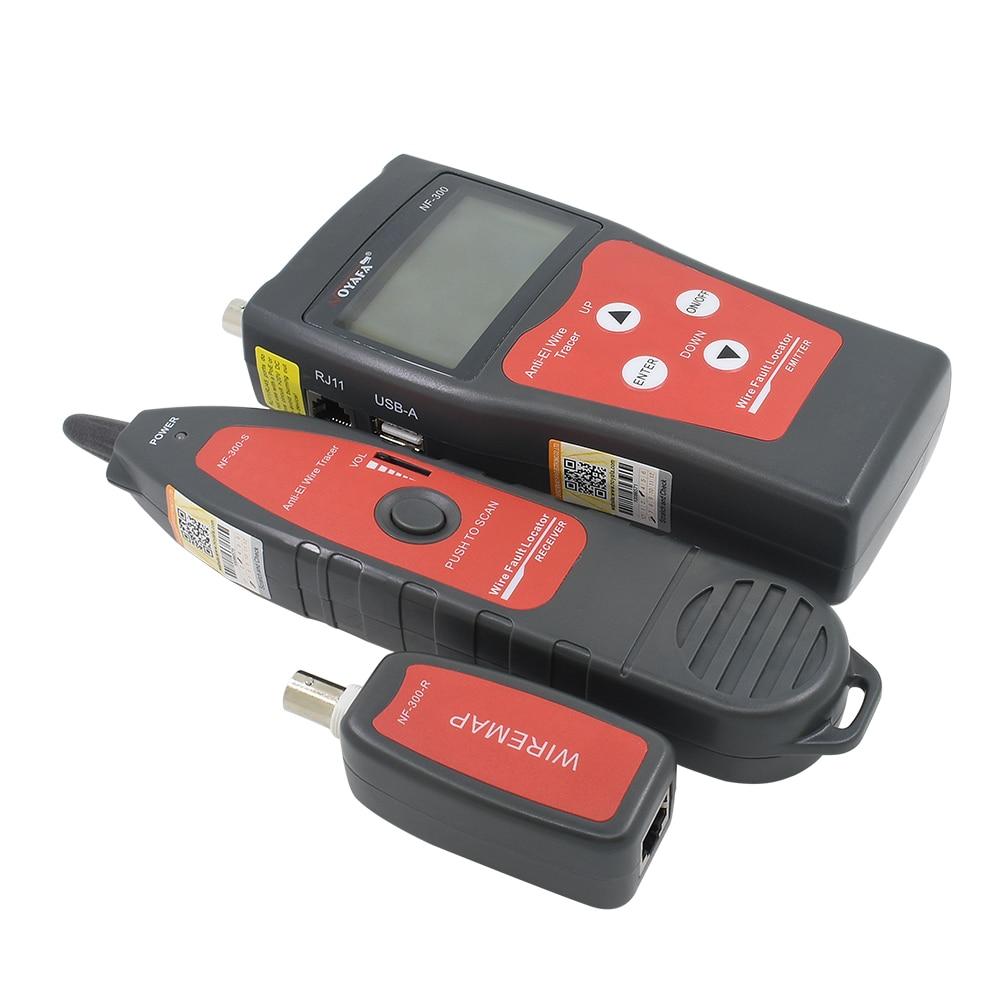 NF-300 Noyafa d'origine pour BNC USB RJ11 téléphone RJ45 LAN traqueur de fil réseau Anti-interférence tonalité traceur testeur de câble - 2