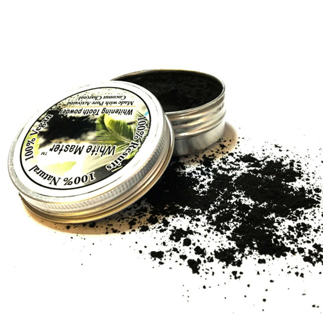 15g Teeth Whitening Powder Natural Organic Activated Charcoal Bamboo Toothpaste Blanqueador Dental Material Oral Hygiene