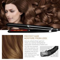Prostownica do włosów na podczerwień profesjonalna prostownica do włosów prostownica do włosów prostownica lokówka lokówka do włosów lokówka w null od Uroda i zdrowie na