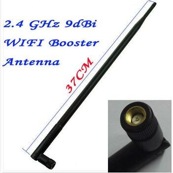 Foscam 2.4GHz 9DBI Antenna Gain WIFI Black Wireless Antenna For FI8918W FI8910W FI9821W FI9821P FI9831P Indoor IP Camera