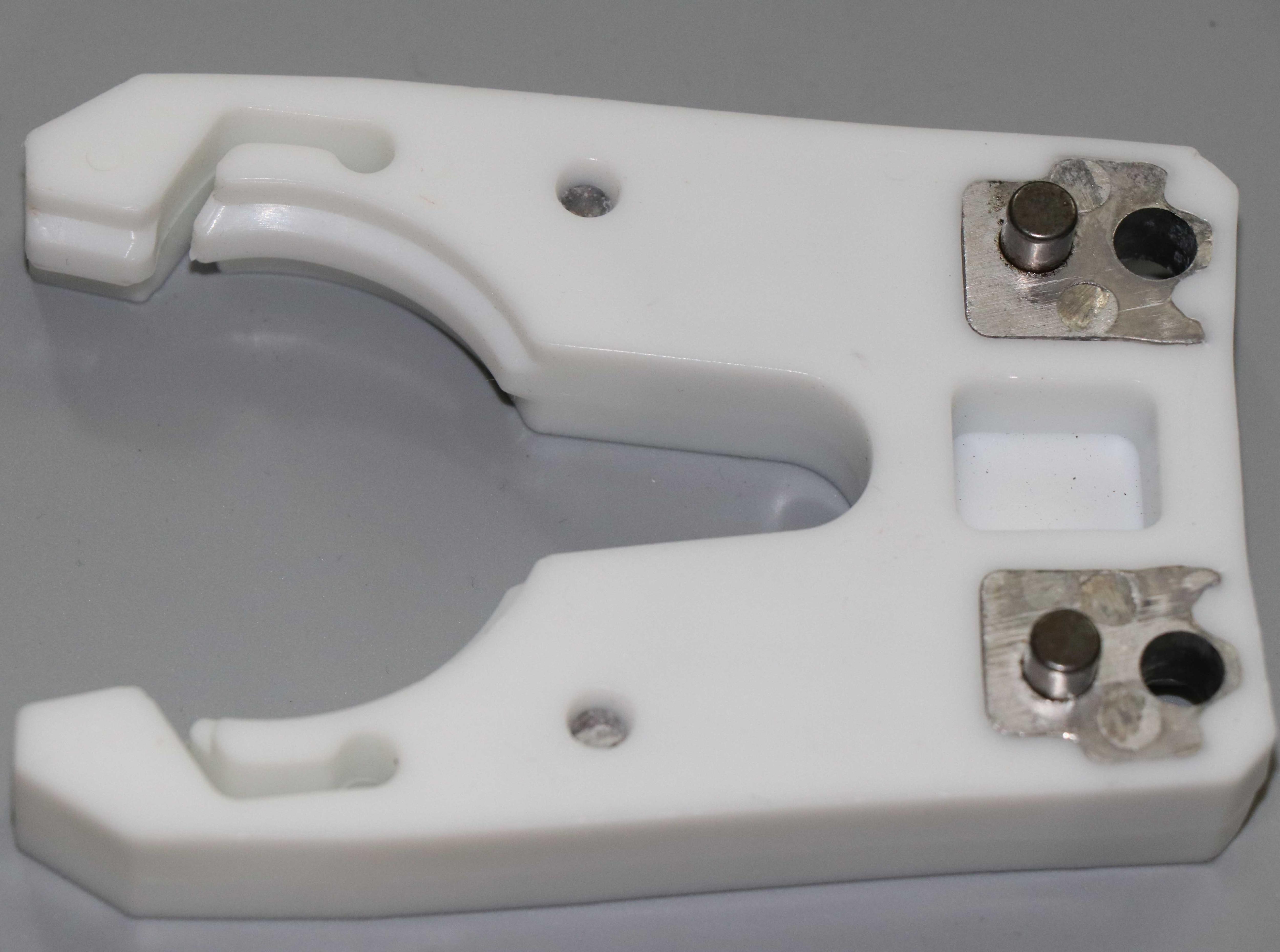 ISO30 įrankio laikiklio spaustukas geležimi + ABS nedegi guma, - Staklės ir priedai - Nuotrauka 3