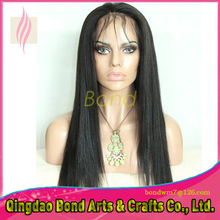 Long silk straight brazilian glueless full lace human hair wigs lace front wigs for black women natural hairline with baby hair