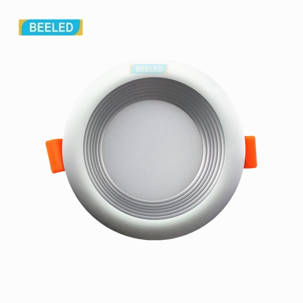 3 Вт светодиодные светильники потолочные встраиваемые Светодиодные пятно света лампы Белый светодиод Буле лампы SMD 5733 (серебристый)