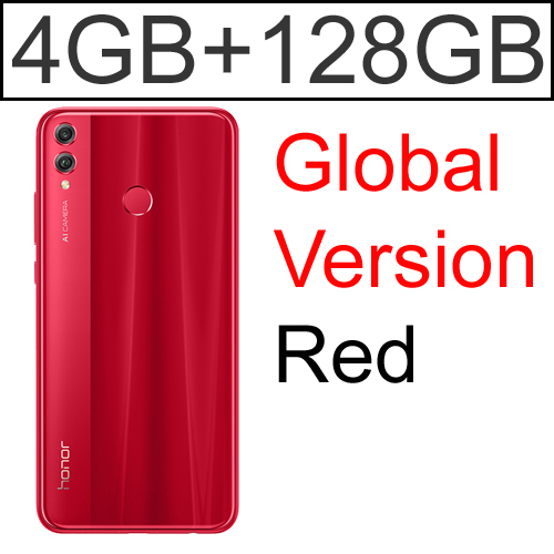 Globa 4G 128GB Red