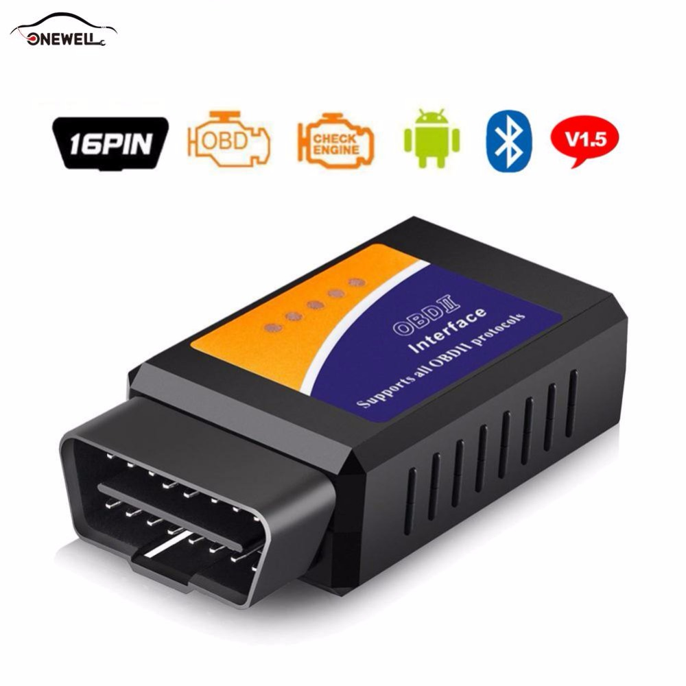 ONEWELL Automotive Hardware V03HW Detector V1.5 WIFI PIC18F25K80 Chip OBD2 OBDII Code Reader Supports Android /Windows System