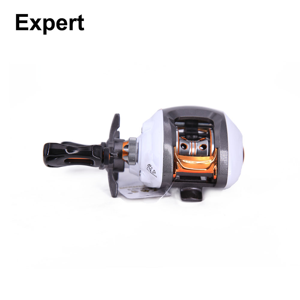 Exbert reel 12 + 1 cuscinetti a sfera bobina di pesca ruota bobina di baitcasting 6.3: 1 rapporto di trasmissione per la pesca hunthouse