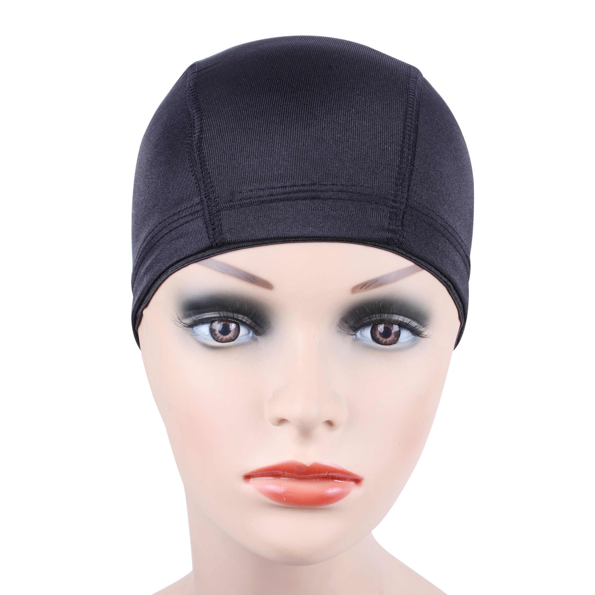 1 pc glueless cabelo líquido peruca forro barato peruca tampas para fazer perucas elastano net elástico cúpula peruca boné