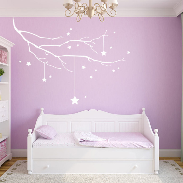 Tree picture canvas prints for kids bedroom wall decoration unique ...
