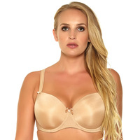Plus Size Padded Bra 3 Colors With Bow Push Up Bra 38 42 D DD DDD