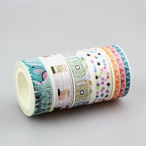 Image 5 - wholesale 80pcs/lot Kawaii Colorful 531 Patterns Tape dots, chevron, flower, flags,gold and christmas  japanese paper washi tape