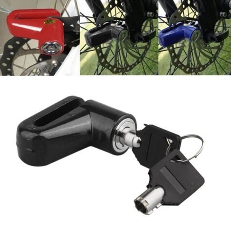 New Arrival 1pc Heavy Duty Motorcycle Moped Scooter Disk Brake Rotor Lock Security Anti-theft Accessories Theft Protection
