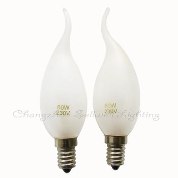 Free Shipping New!miniature Lamps Bulbs 230v 60w E14s A419
