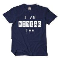 Sıcak Satış Moda Ben Sherlock eşleşen Moriar tee mans gerekir T-shirt O-Boyun var AB boyutu t shirt trend tarzı üst sitcoms