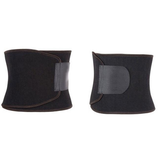 Adjustable Waist Trimmer Sweat Slimming Belt Fat Burner Body Shaper Slim Body Burn Exercise Girdle . 2
